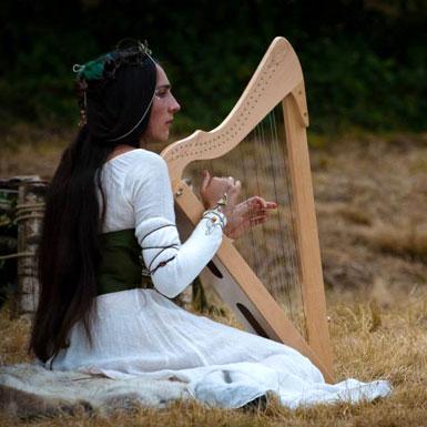 Syveline - Harpe celtique