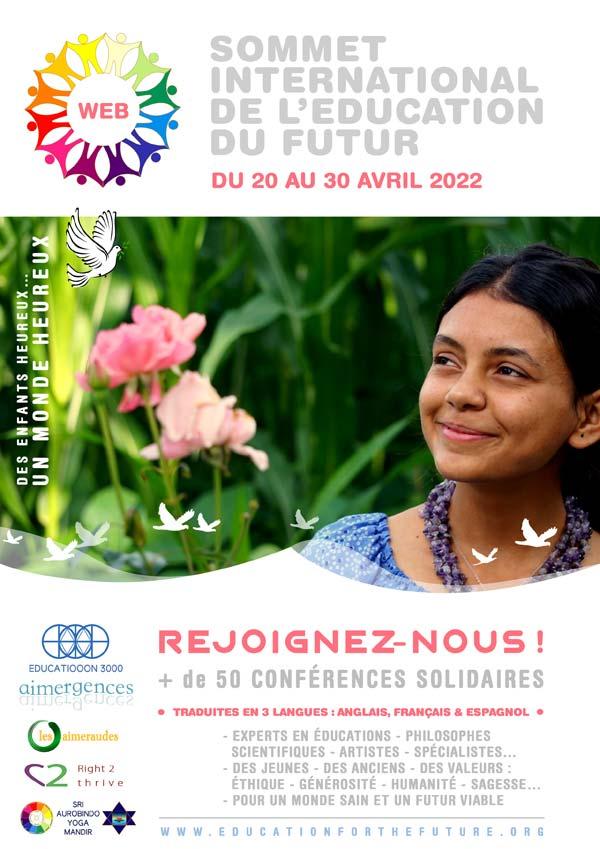 Sommet International de l'Éducation du Futur - Flyer